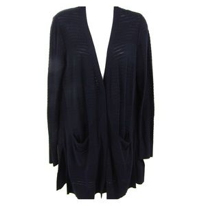 CAbi Navy Long Sleeve Cardigan